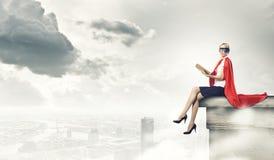 Супер женщина Стоковое Изображение