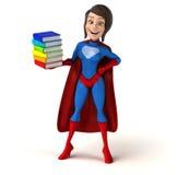 Супер женщина бесплатная иллюстрация