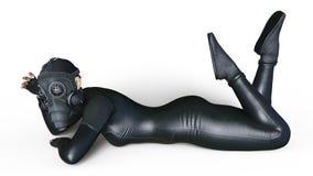 Супер женщина Стоковое фото RF