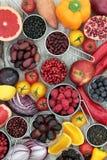 Супер здоровье повышая еду Стоковые Изображения RF
