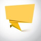 Супер знамя origami Стоковые Фото