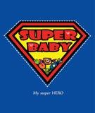 Супер карточка младенца Стоковая Фотография RF