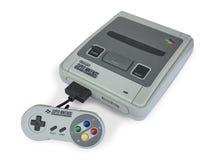 Супер консоль игры Nintendo стоковые фотографии rf