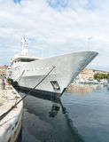 Супер Ла Ciotat яхты Стоковое Изображение RF