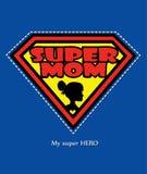 Супер мама Стоковое фото RF