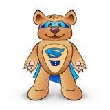 Супер медведь иллюстрация штока