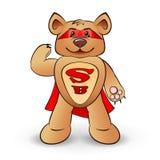 Супер медведь иллюстрация вектора