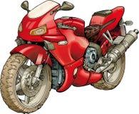 Супер мотоцилк Стоковые Изображения RF