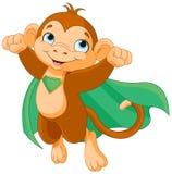 Супер обезьяна иллюстрация штока