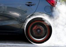 Супер перемещаться колеса автомобиля Стоковые Фото