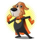 Супер собака иллюстрация вектора