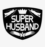Супер супруг иллюстрация вектора