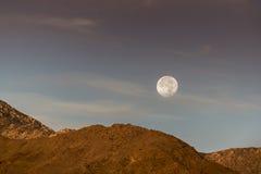 Супер луна стоковое фото rf