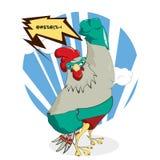 Супер цыпленок бесплатная иллюстрация