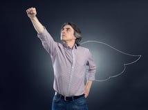 Супер человек Стоковое Изображение RF
