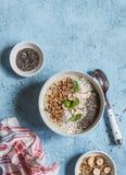 Супер шар smoothie еды завтрак здоровый Стоковое Изображение