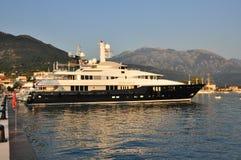 Супер яхта Хорватия Стоковые Фото