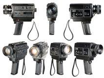 Супер 8mm ядровый киносъемочный аппарат стоковое фото rf