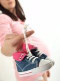 супоросый ботинок Стоковая Фотография