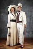 Супруги старых времен Стоковое фото RF