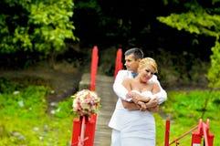 Супруг и жена детенышей Стоковые Фото