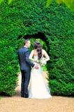 Супруг и жена на дворце Стоковое Фото