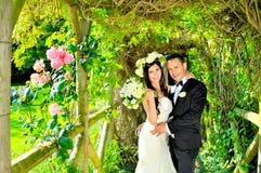 Супруг и жена на дворце Стоковое фото RF