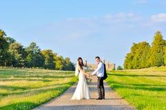 Супруг и жена на дворце Стоковая Фотография