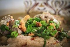 Суп лапши с свининой Стоковые Изображения RF