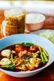 суп лапши тайский Стоковое Фото