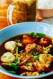 суп лапши тайский Стоковые Фото