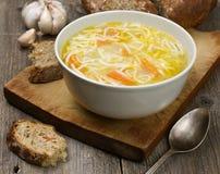 Суп лапши Стоковое Фото