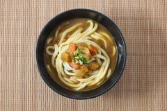 Суп лапши Udon стоковое изображение rf