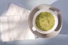 Суп брокколи Стоковое фото RF