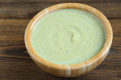 Суп брокколи cream Стоковые Изображения