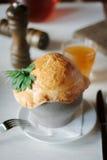 Суп в баке Стоковое Фото