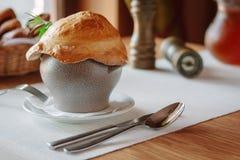 Суп в баке Стоковое Изображение RF