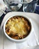 Суп в баке, evrope еды Стоковая Фотография