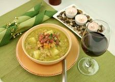 суп гороха ветчины Стоковое Фото