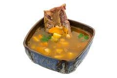 Суп гороха Стоковое Изображение