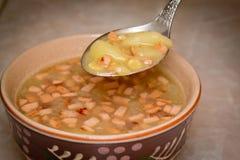 Суп горохов Стоковое Фото
