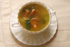 Суп гриба лисички Стоковые Фото