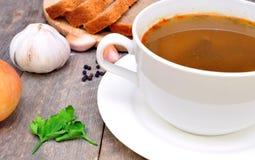 Суп гриба с майонезом Стоковая Фотография RF