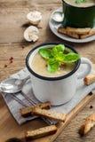суп гриба Стоковое Изображение