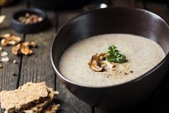 Суп гриба cream Стоковые Изображения RF