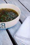 Суп гриба cream Стоковая Фотография