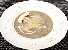 Суп гриба cream Стоковые Изображения