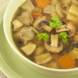 Суп грибов Стоковые Изображения RF