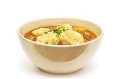 суп гуляша горячий венгерский традиционный Стоковые Изображения