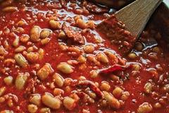 суп еды фасоли греческий традиционный Стоковые Изображения